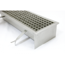 Stainless steel industrial floor drains with non skid grate S140-S500-