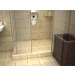 Tile insert channel WALL shower drains with curved flange 600mm - 600KNWF_zab_m