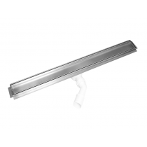 Tile insert channel shower drains with 600mm flange-