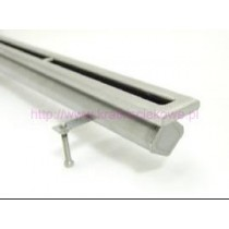 Stainless steel floor drains with 1 slit top-