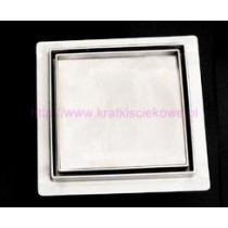 Tile insert  floor drains 100x100-