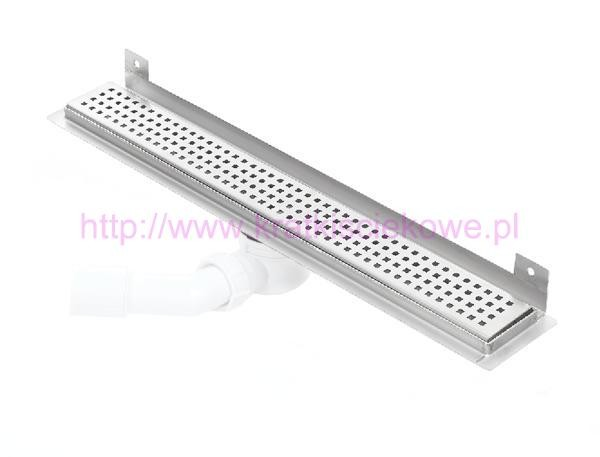 Channel WALL shower drains with curved flange 800mm - 800KWF_p